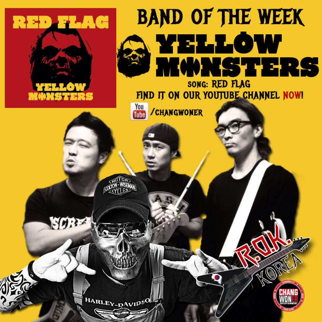 YELLOW MONSTERS - BAND OF THE WEEK