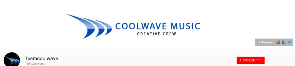 Coolwave Music youTube Channel