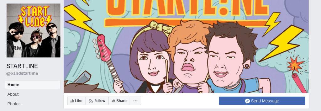 Startline on Facebook